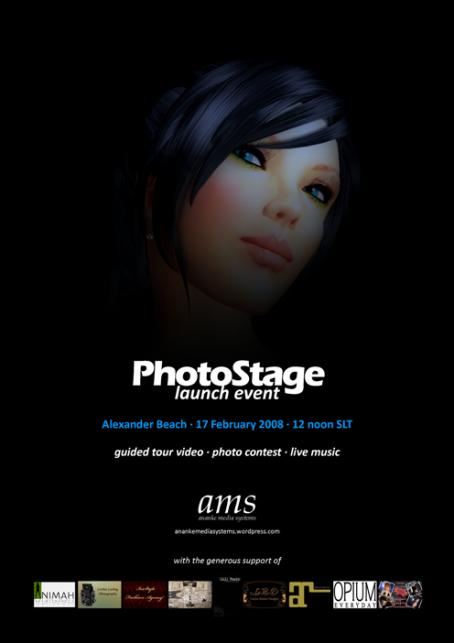 PhotoStage Launch Eventinvite